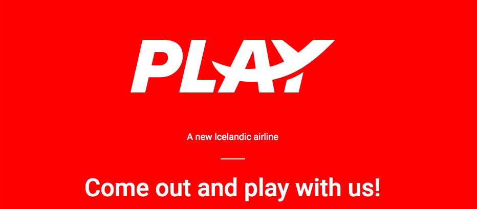 New Icelandic airline called PLAY
