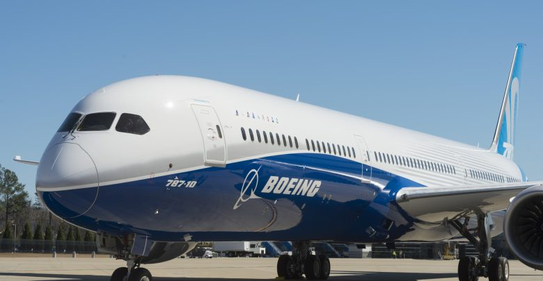 Boeing has a large stock of Boeing 787 aircraft