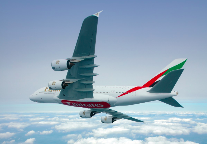 Emirates flies with Airbus A380 to London and Paris