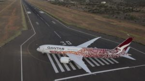 Qantas parks part of the Boeing 787 fleet in the desert