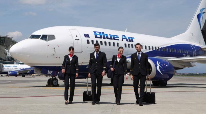 Blue Air takes off scheduled service between Schiphol Airport and Cluj-Napoca