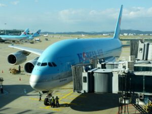 Korean Air flies again with the Airbus A380