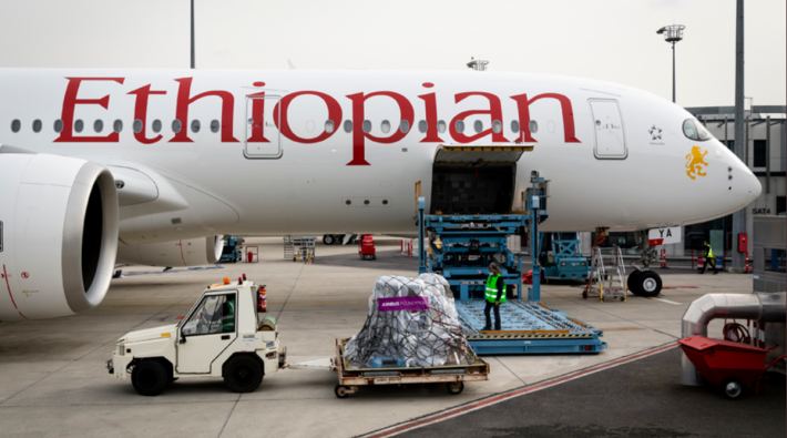 Ethiopian Airlines takes delivery of 2 Airbus A350 aircraft