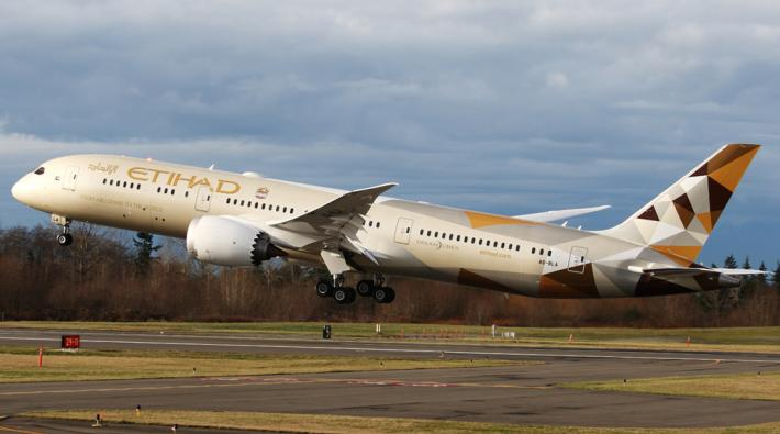 Etihad Airways starts scheduled service between Abu Dhabi and Tel Aviv