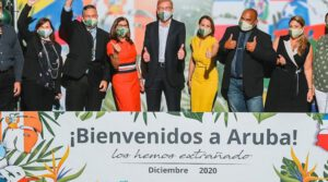 South American airlines fly to Aruba Airport again