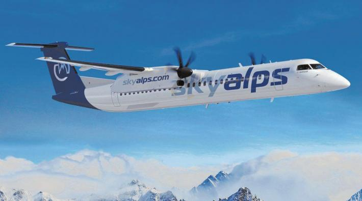 Italian start-up Sky Alps receives first two Q400 aircraft