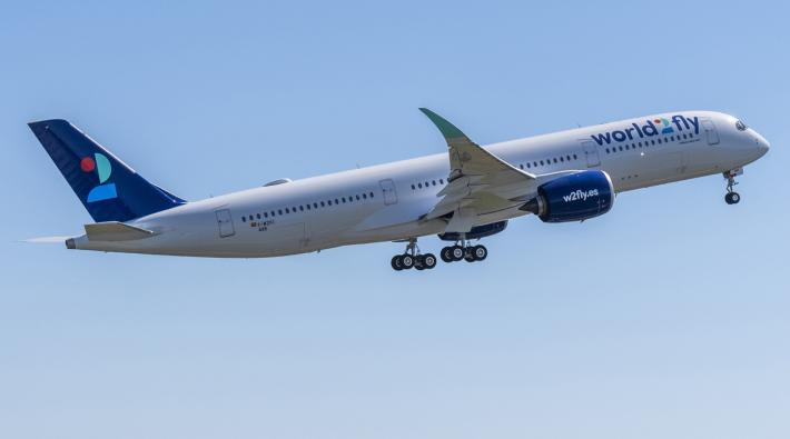 World2Fly receives its first Airbus A350