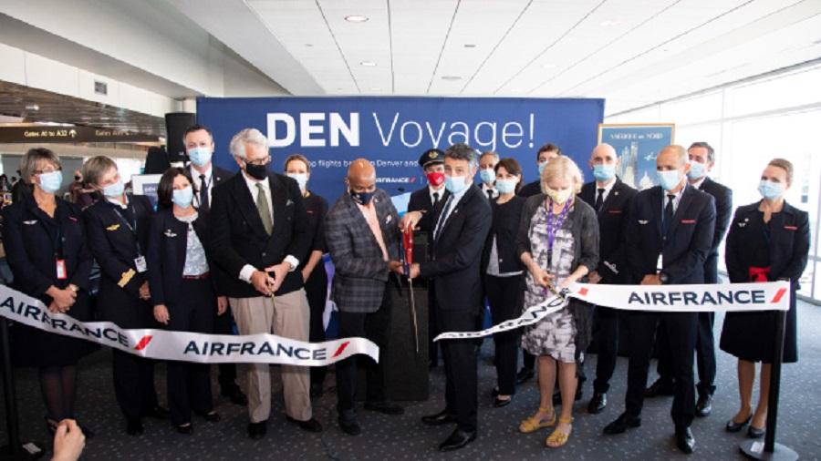 Air France to start flights between Paris and Denver
