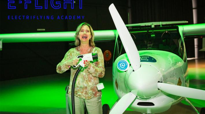 First electric flight school of Europe opened in the Netherlands
