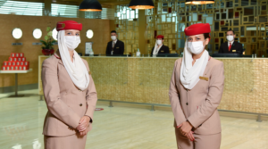 First Class Lounge at Emirates is open again