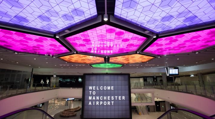 Manchester Airport opens new terminal 2
